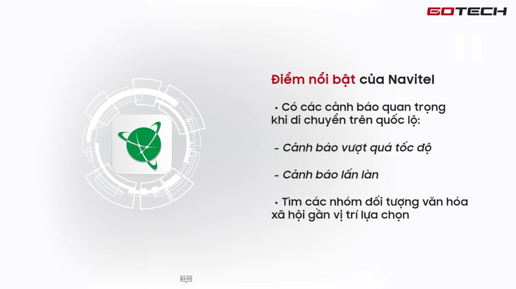 Lợi ích của việc sử dụng ứng dụng chỉ đường Navitel trên màn hình GOTECH
