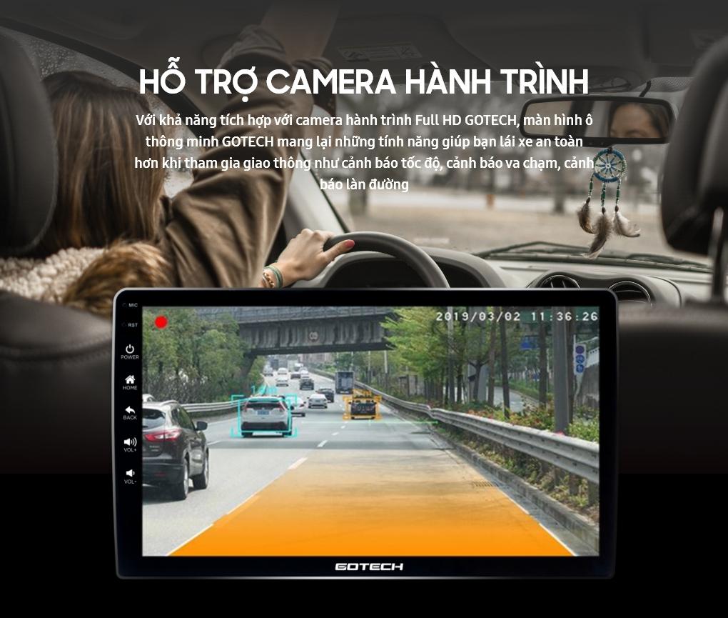 Tích hợp Camera hành trình lên màn hình Android GOTECH