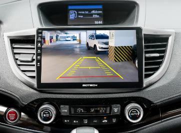 Màn hình GOTECH được tích hợp các loại Camera rất thuận tiện cho các tài xế