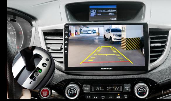 Màn hình ô tô GT10 Pro tích hợp các loại camera ô tô