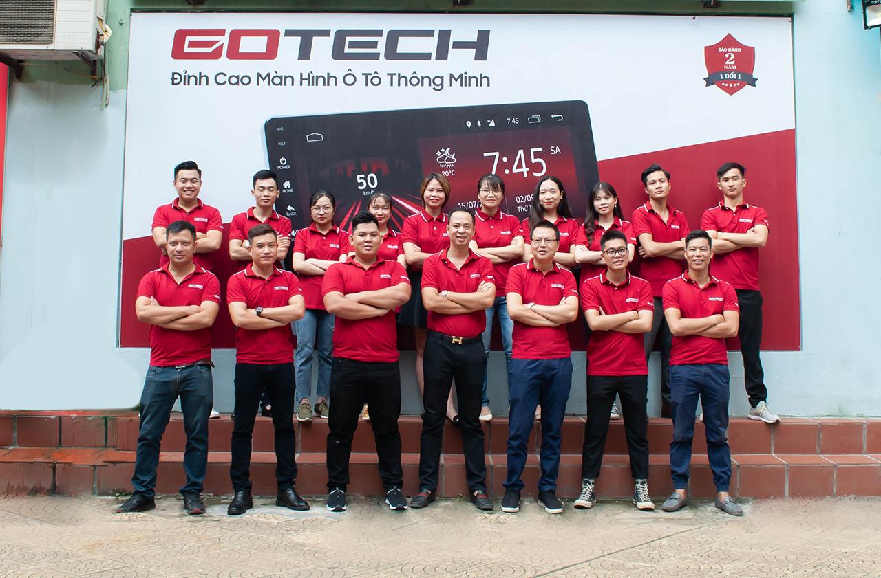 Đội ngũ Kỹ thuật viên GOTECH chuyên nghiệp, tay nghề cao