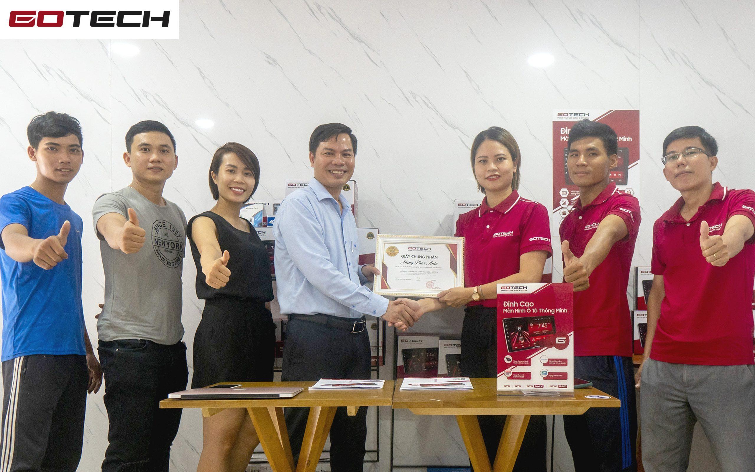 Hưng Phát Auto chính thức trở thành đại lý Vàng của GOTECH tại Quy Nhơn