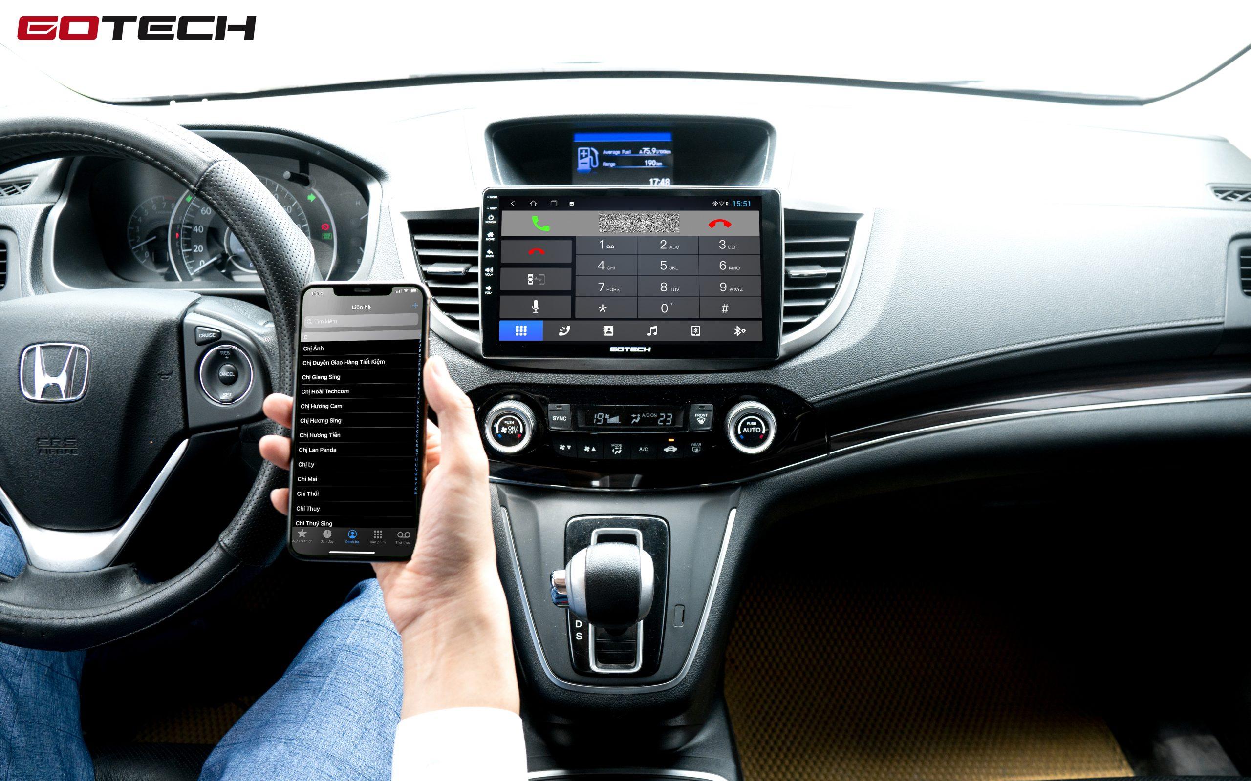 Kết nối Apple Carplay không dây giúp bạn nghe gọi rảnh tay