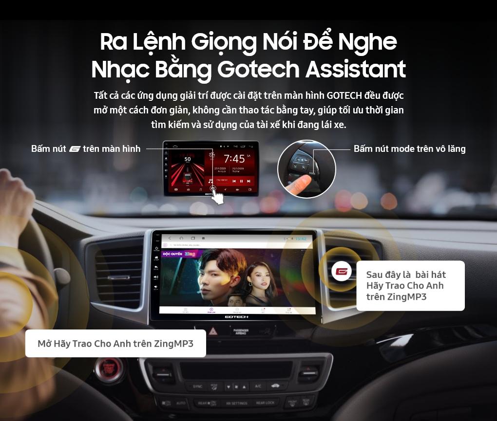 Phần mềm điều khiển bằng giọng nói trên màn hình GOTECH