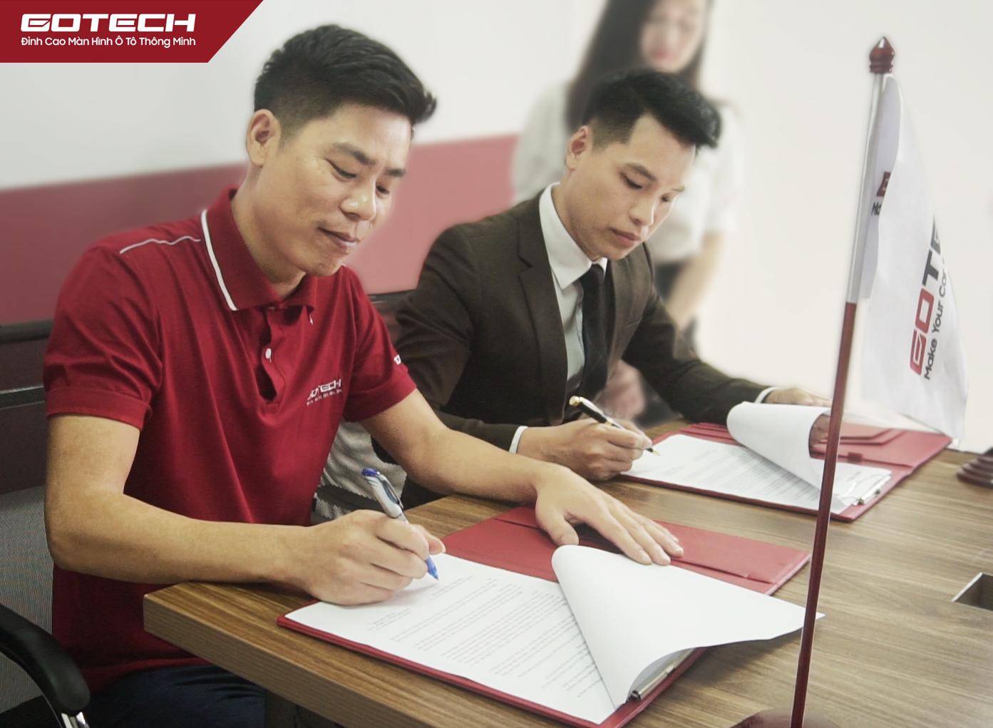Thương hiệu màn hình ô tô thông minh GOTECH và Hà Thành Garage ký kết hợp tác chiến lược