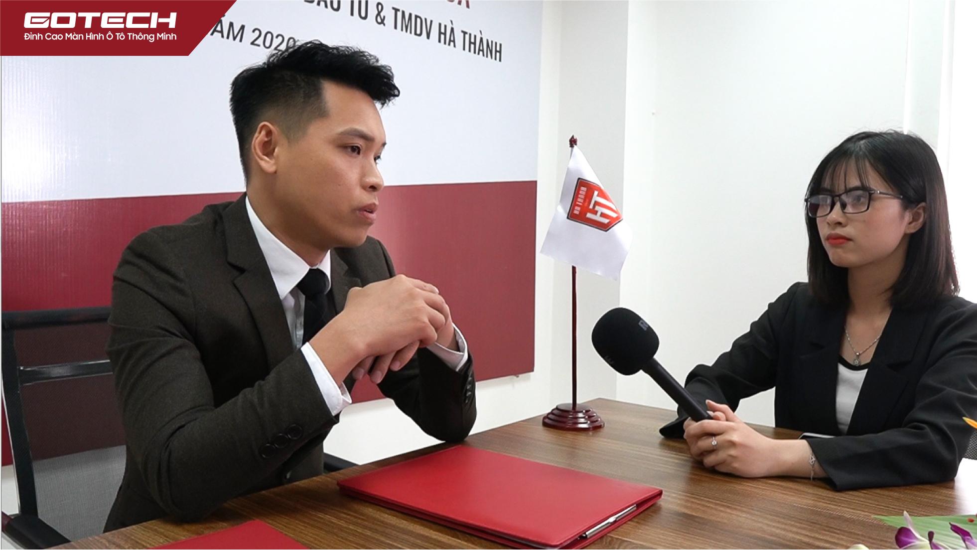 Ông Nguyễn Ngọc Hà - Tổng giám đốc Hà Thành kỳ vọng hai đơn vị sẽ có những bước phát triển đột phá