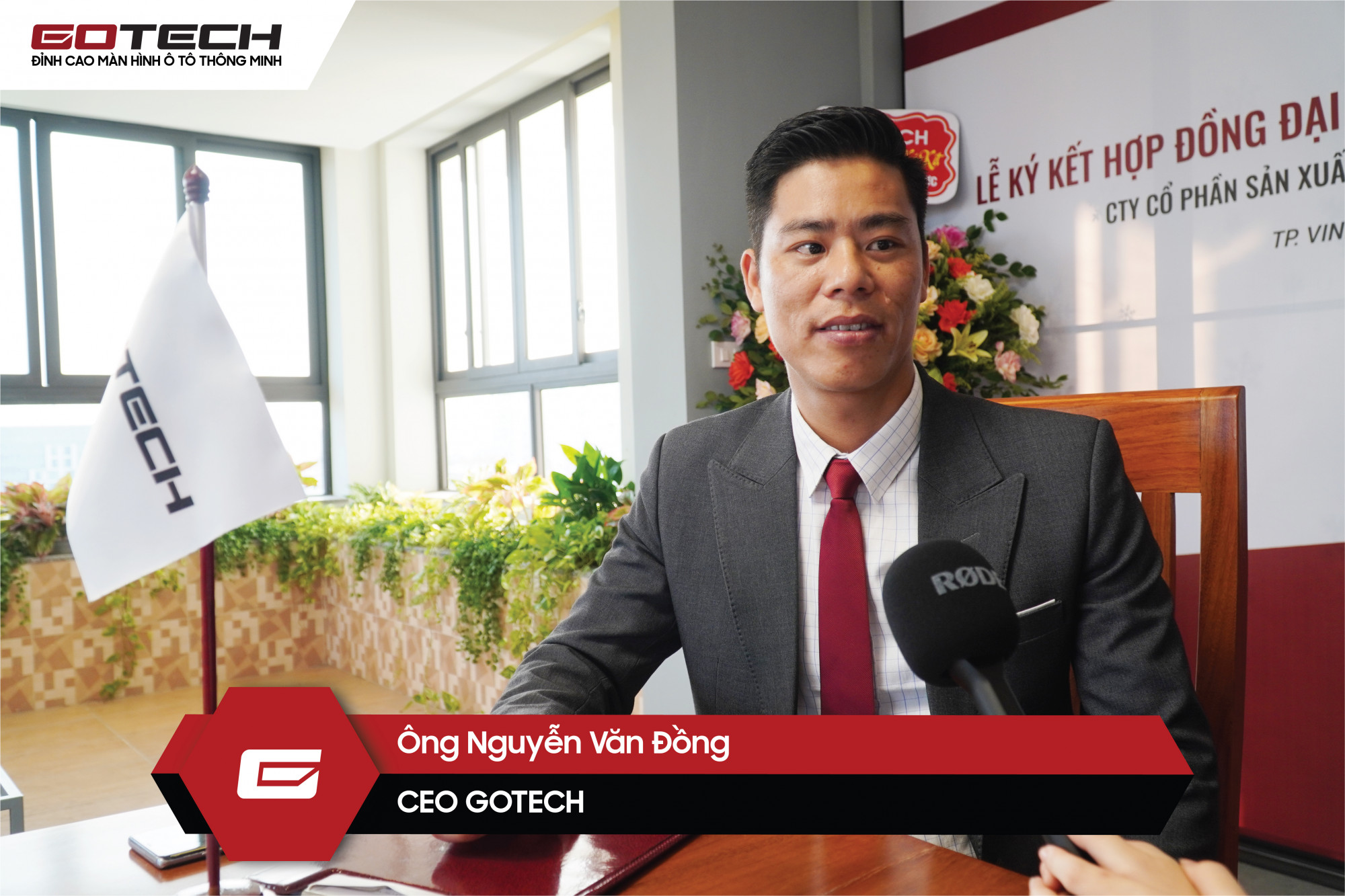 Ông Nguyễn Văn Đồng - Đại diện GOTECH nhấn mạnh sẽ luôn sát cánh cùng đại lý trong thời gian tới.