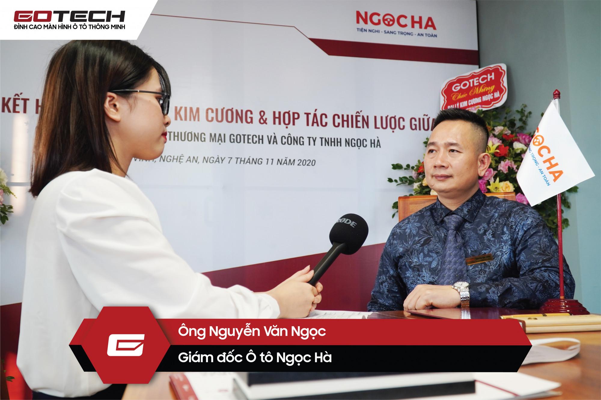 Ông Nguyễn Văn Ngọc - Giám đốc Ô tô Ngọc Hà nhận định sự hợp tác này sẽ mở ra những cơ hội mới cho cả hai doanh nghiệp.