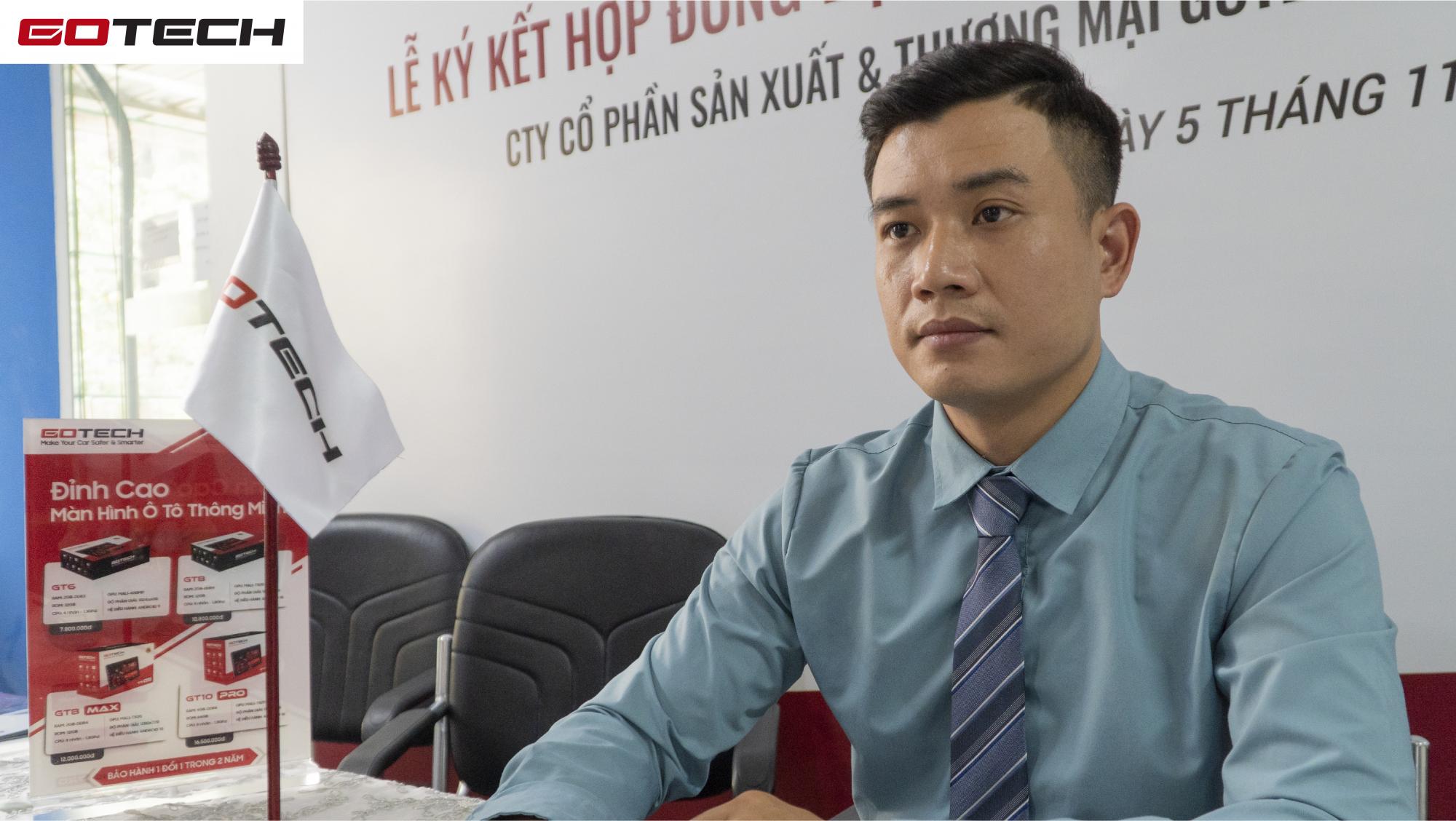 Ông Nguyễn Hải Lộc - đại diện GOTECH nhấn mạnh sẽ luôn hỗ trợ và đồng hành cùng OtoPro trong thời gian tới.