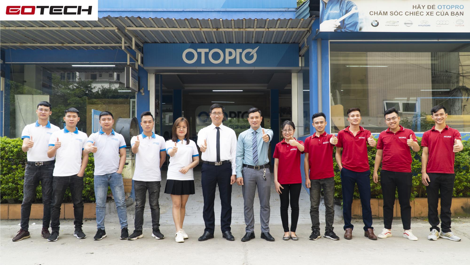 GOTECH và OtoPro hợp tác mang đến những sản phẩm, dịch vụ chất lượng nhất cho người tiêu dùng.