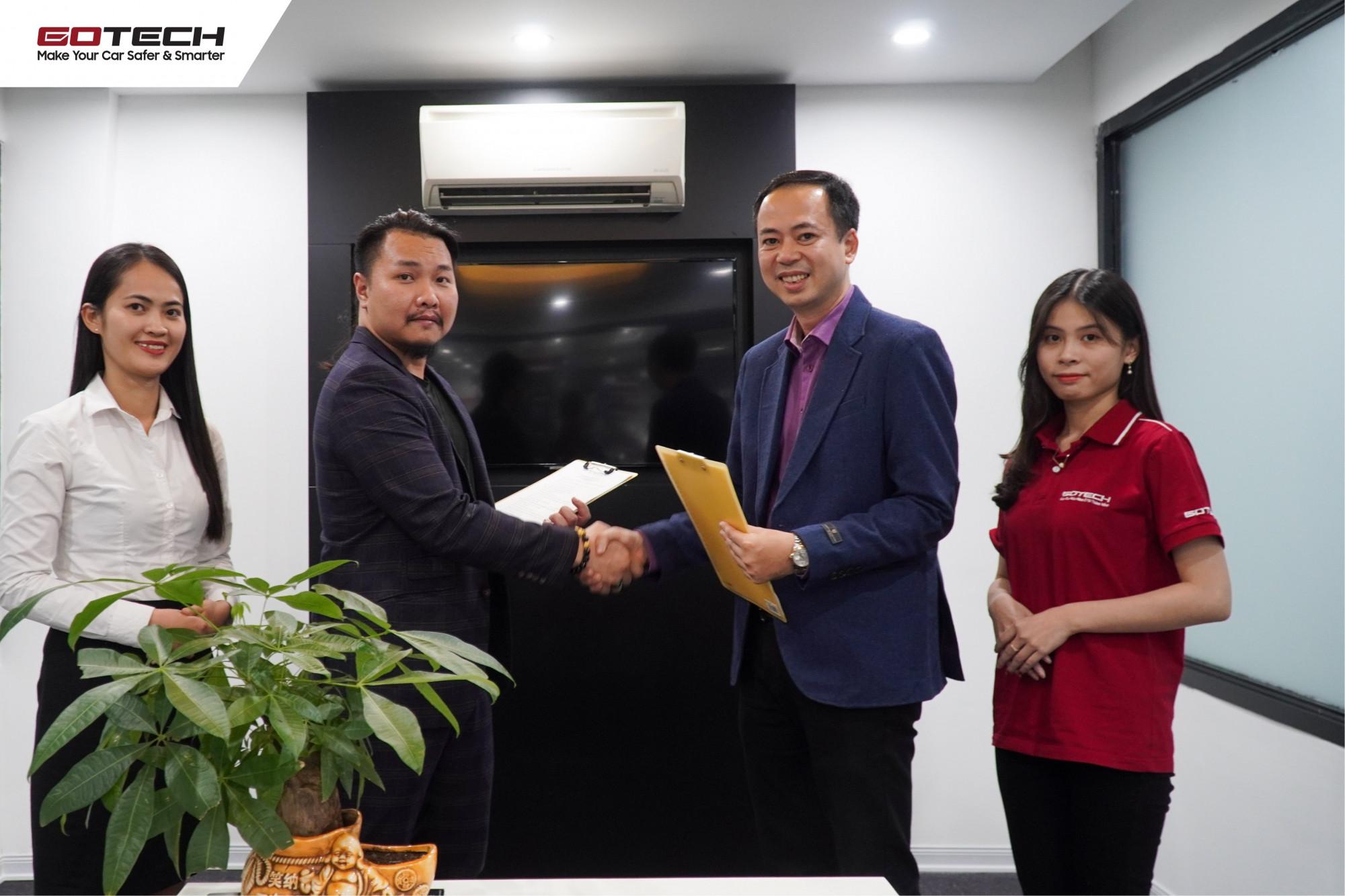 Hai doanh nghiệp chính thức ký kết hợp đồng hợp tác