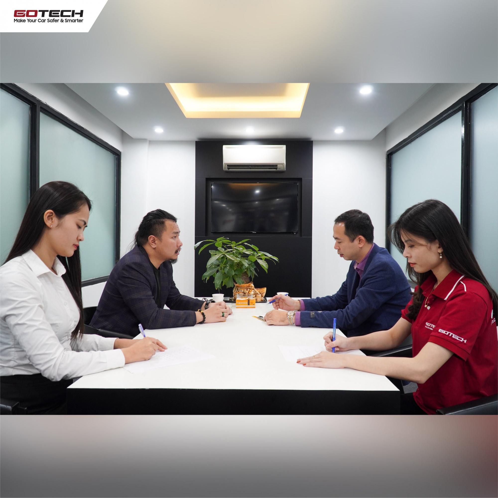 GOTECH ký kết hợp tác chiến lược với ô tô Trung Thượng