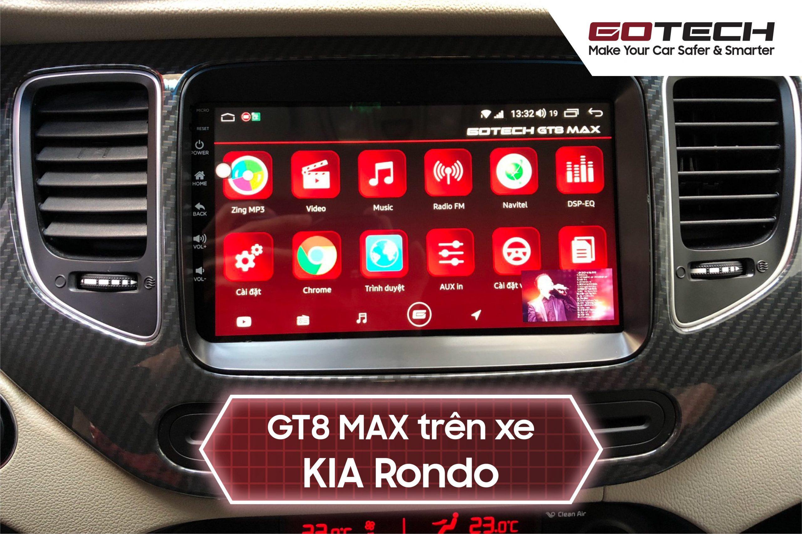 Màn hình Android cho xe Kia Rondo
