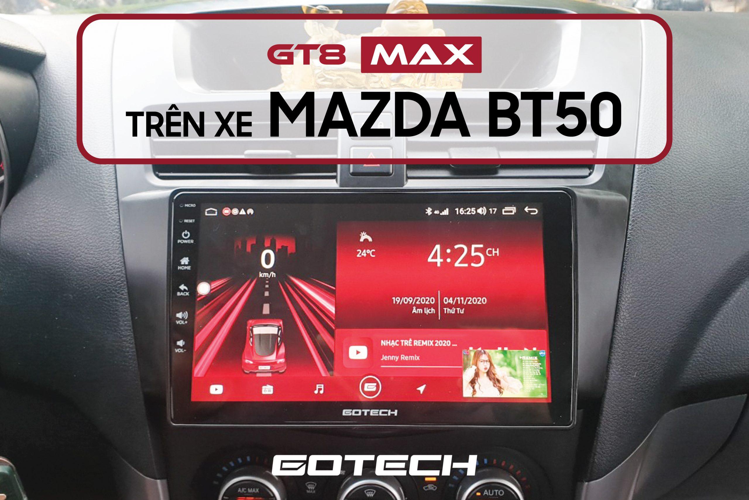Màn hình DVD ô tô cho xe Mazda BT50