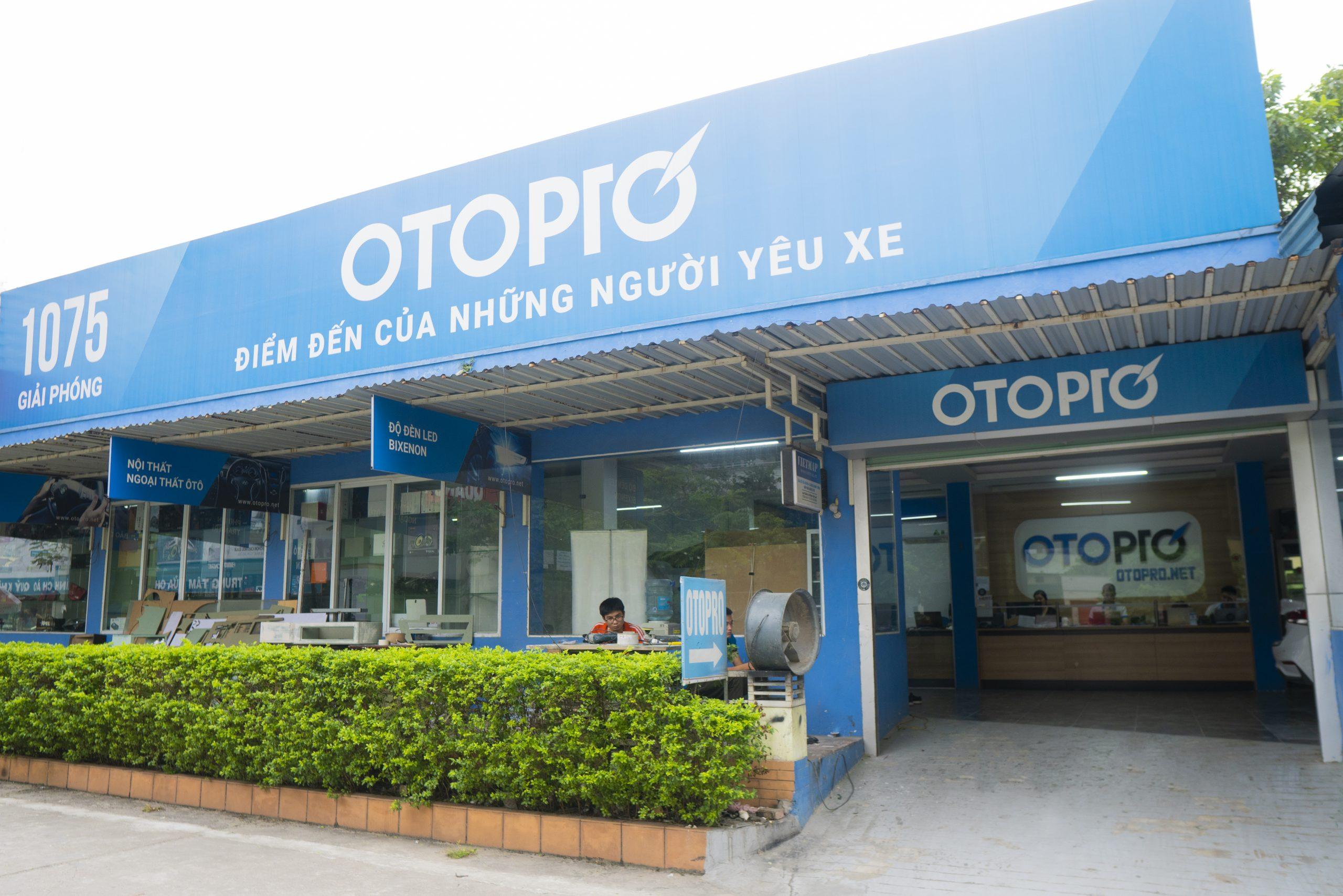 Chuỗi cửa hàng OTO PRO tai Hà Nội