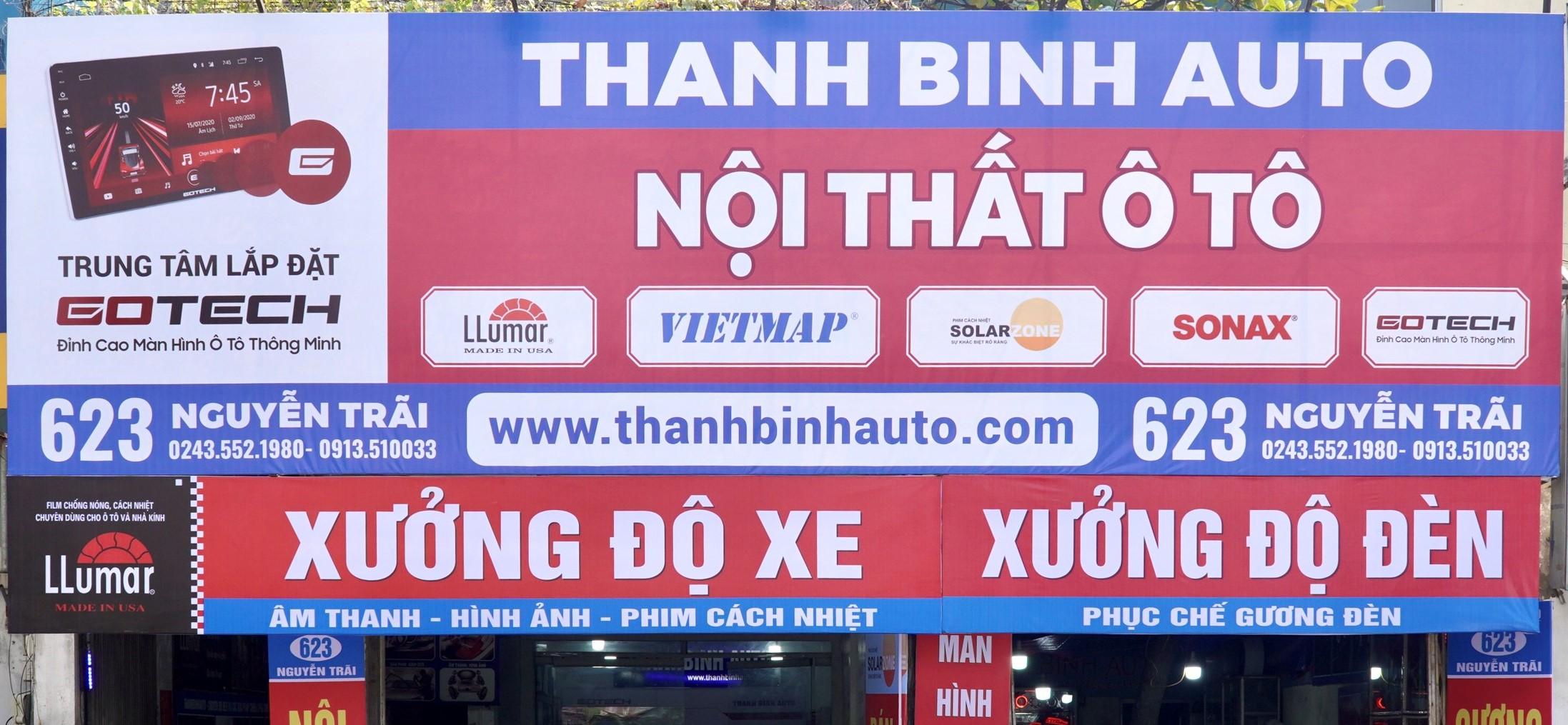 Chuỗi cửa hàng Thanh Bình Auto tại Hà Nội