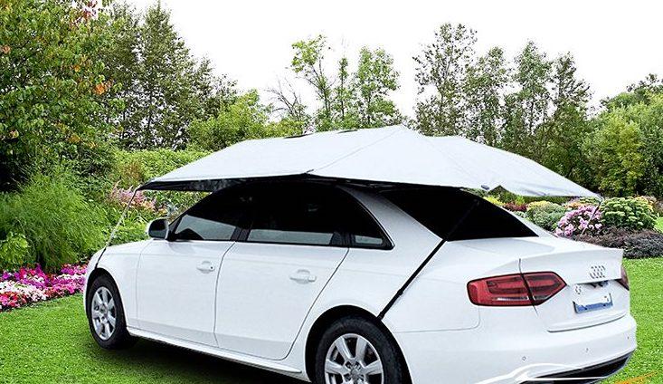 Sử dụng ô che nắng khi đỗ xe ngoài trời.