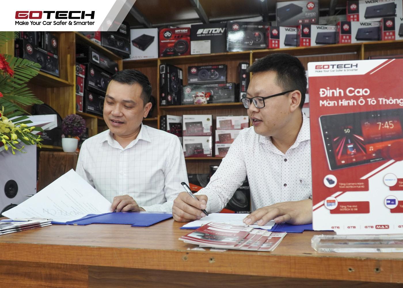 GOTECH và Hà Nghĩa Auto bắt tay hợp tác phát triển các thiết bị nội thất ô tô thông minh.