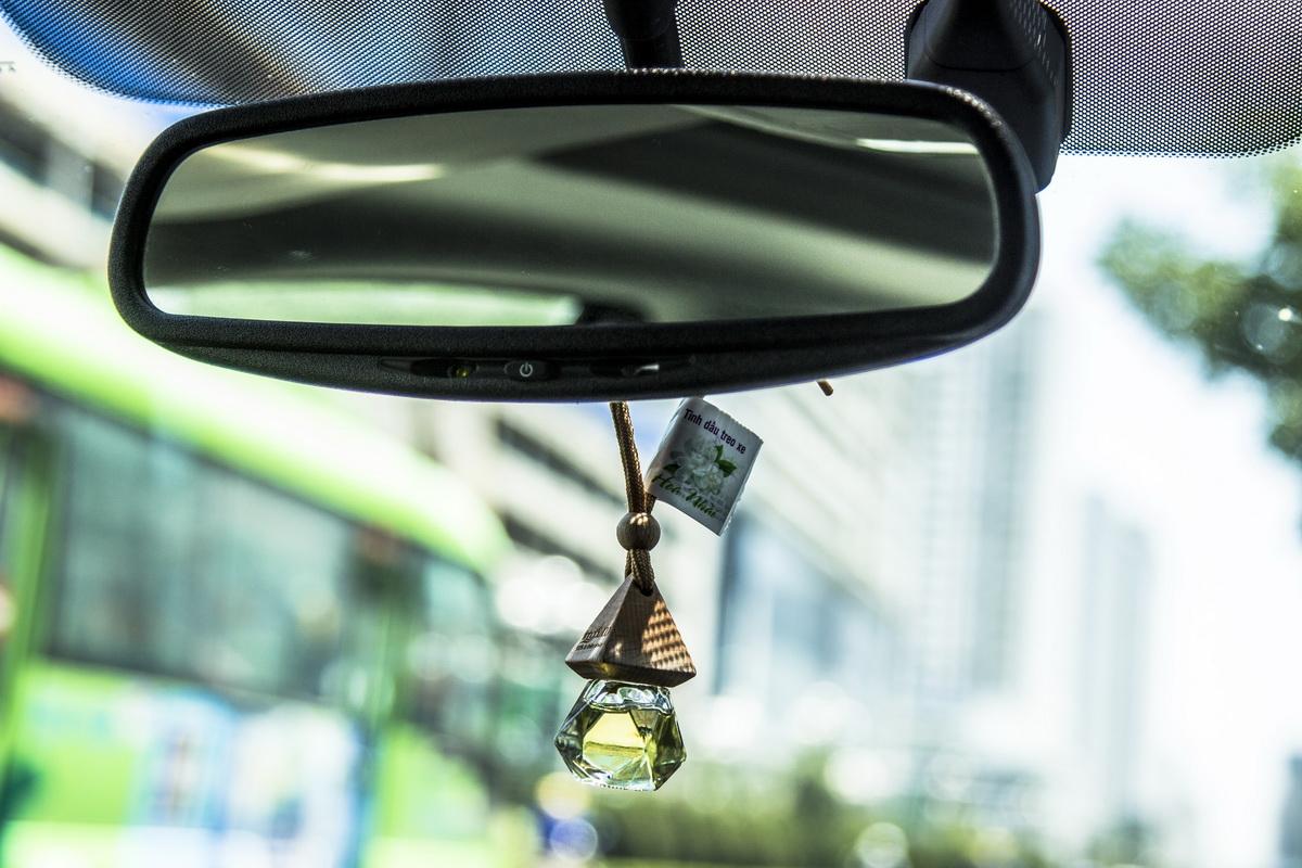Mùi hương của tinh dầu giúp giảm căng thẳng khi lái xe.