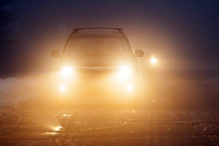 Trang bị thêm đèn sương mù.