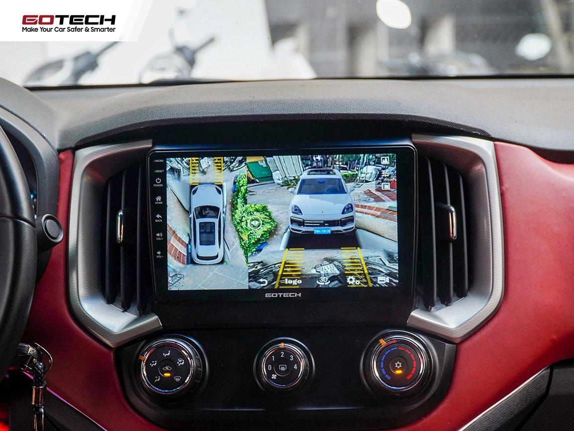 Khởi động ngay khi xe hoạt động, hỗ trợ quan sát tối ưu.