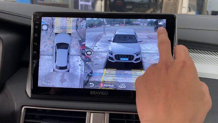 màn hình Android tích hợp camera 360 độ
