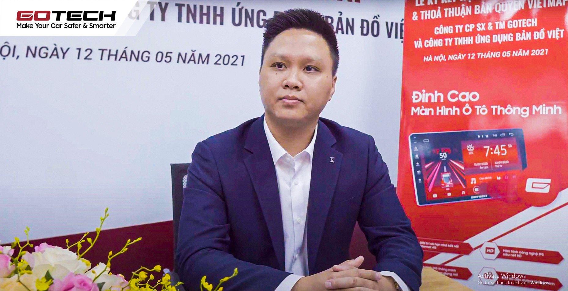 Ông Tô Hồng Minh - Giám đốc Marketing GOTECH.