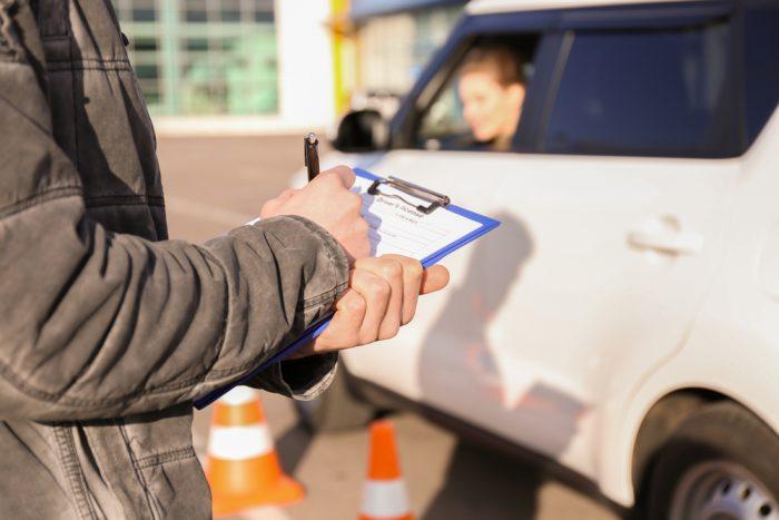 Các bước thi bằng lái xe B2