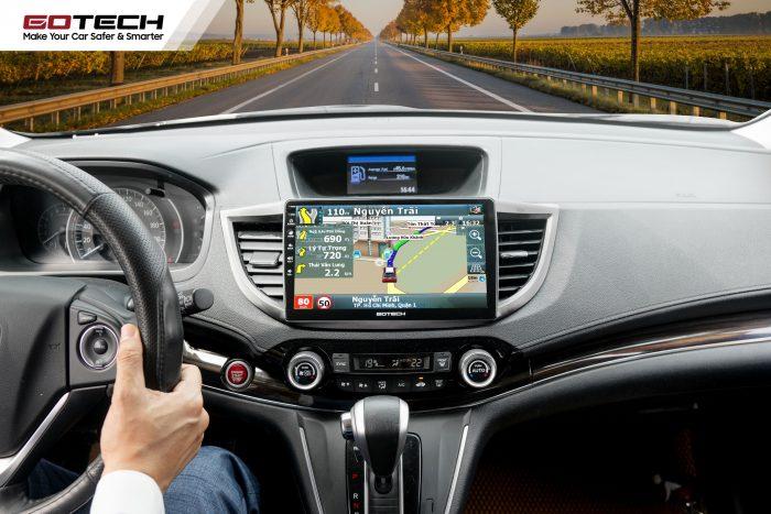 màn hình ô tô tích hợp phần mềm dẫn đường