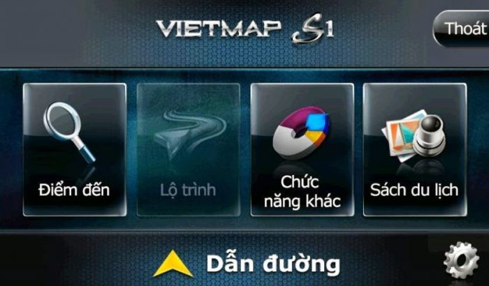 phần mềm dẫn đường Vietmap