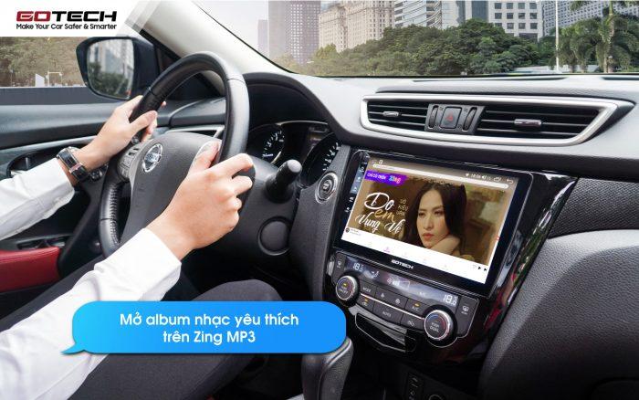 Tích hợp trợ lý Kiki trên màn hình ô tô