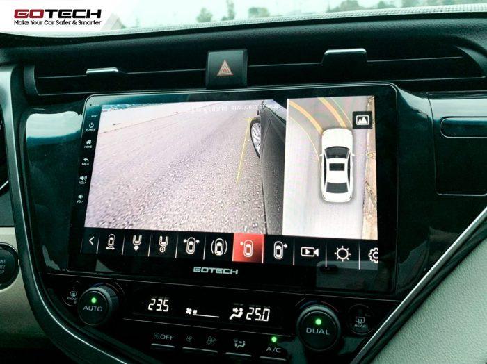 sử dụng camera ô tô 360