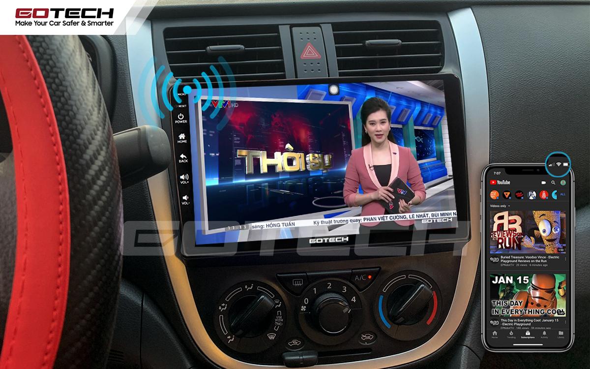 Chia sẻ wifi không cần dùng ổ phát trên màn hình GOTECH cho xe Suzuki Celerio 2018-2020