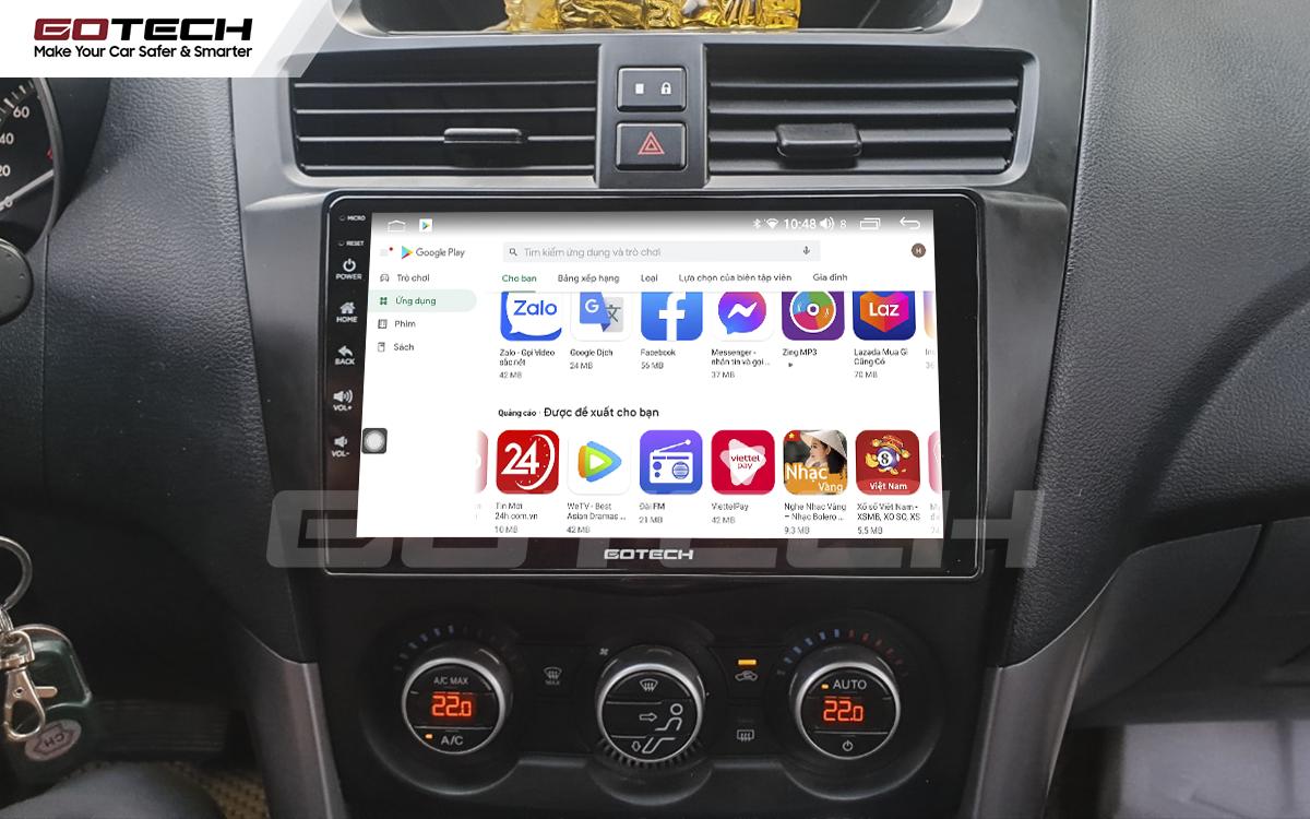 Giải trí đa phương tiện trên màn hình ô tô thông minh GOTECH cho xe Mazda BT50 2012-2018