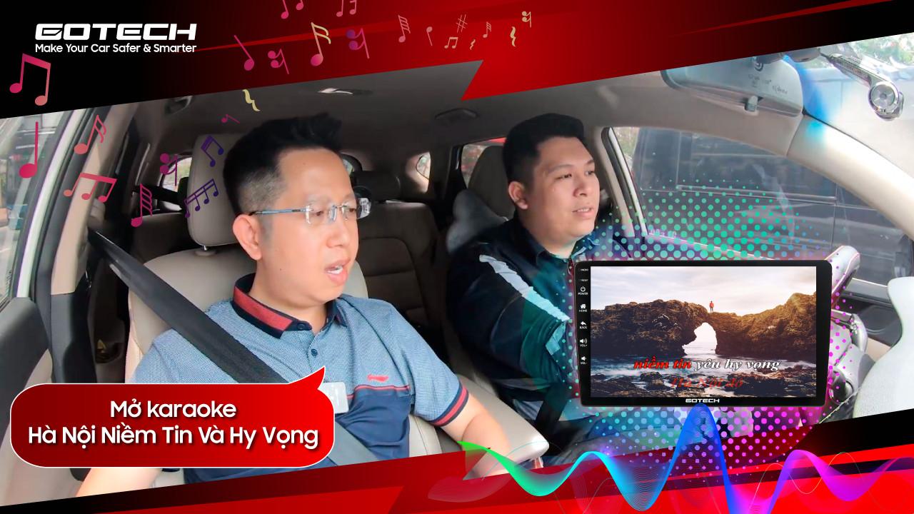 """Hé lộ giọng hát """"cực ngọt"""" của MC Việt Khuê cùng dàn âm thanh """"đỉnh cao"""" trên màn hình GOTECH"""