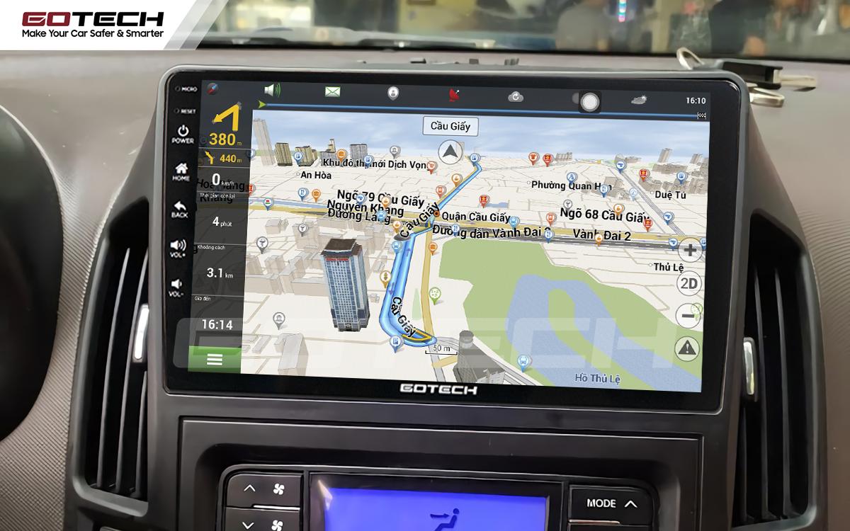 Tích hợp các bản đồ dẫn đường thông minh và thao tác dễ dàng cho xe Hyundai i30 2008-2013