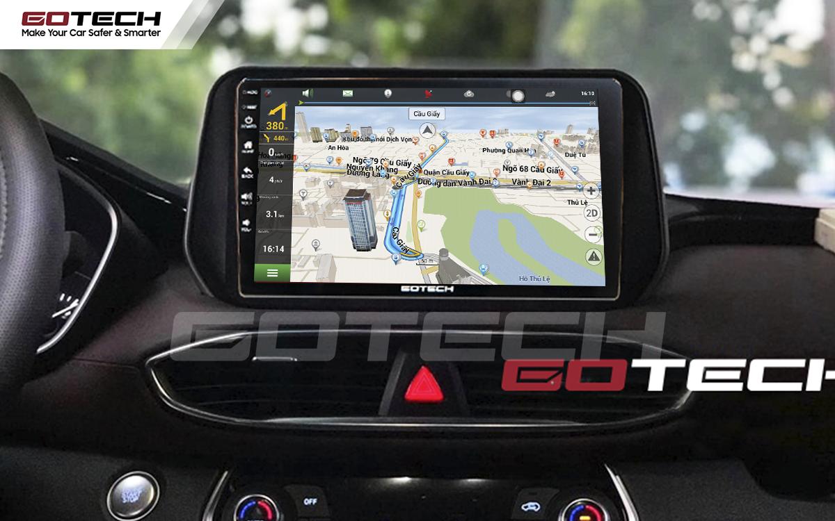 Tích hợp các bản đồ dẫn đường thông minh và thao tác dễ dàng cho xe Hyundai Tucson 2019-2020