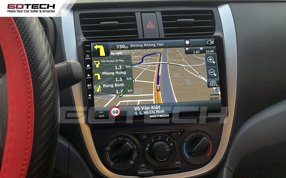 Tích hợp các bản đồ dẫn đường thông minh và thao tác dễ dàng cho xe Suzuki Celerio 2018-2020