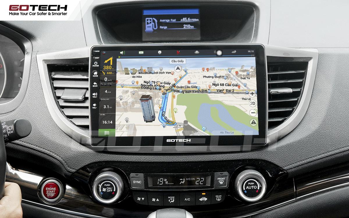 Ứng dụng chỉ đường thông minh trên màn hình ô tô GOTECH
