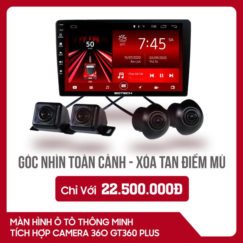 MÀN HÌNH Ô TÔ THÔNG MINH GOTECH GT360 PLUS