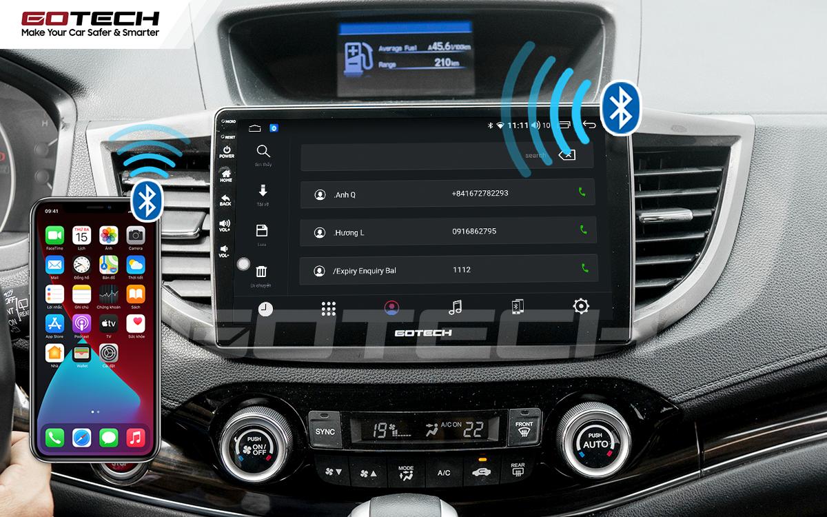 Nghe gọi điện thoại rảnh tay nhờ kết nối trực tiếp với màn hình ô tô thông minh GOTECH