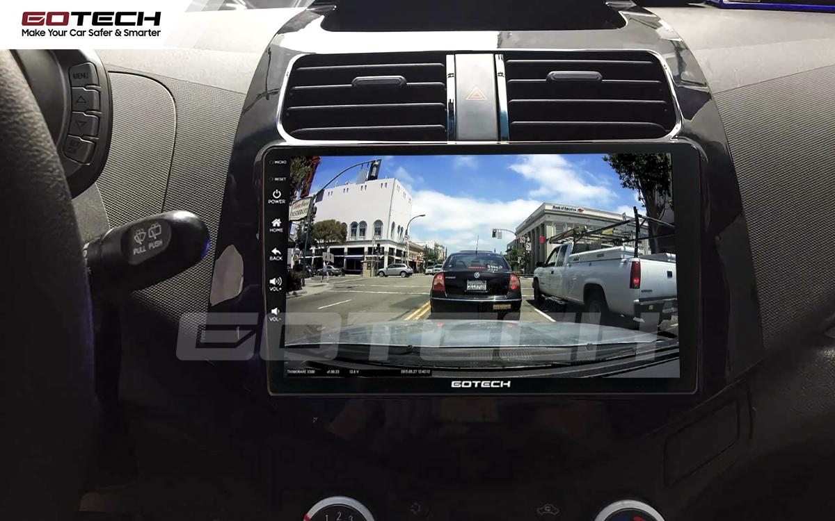 Tích hợp các thiết bị ngoại vi hỗ trợ quan sát và thao tác dễ dàng cho xe Chevrolet Spark Matiz 2012-2016