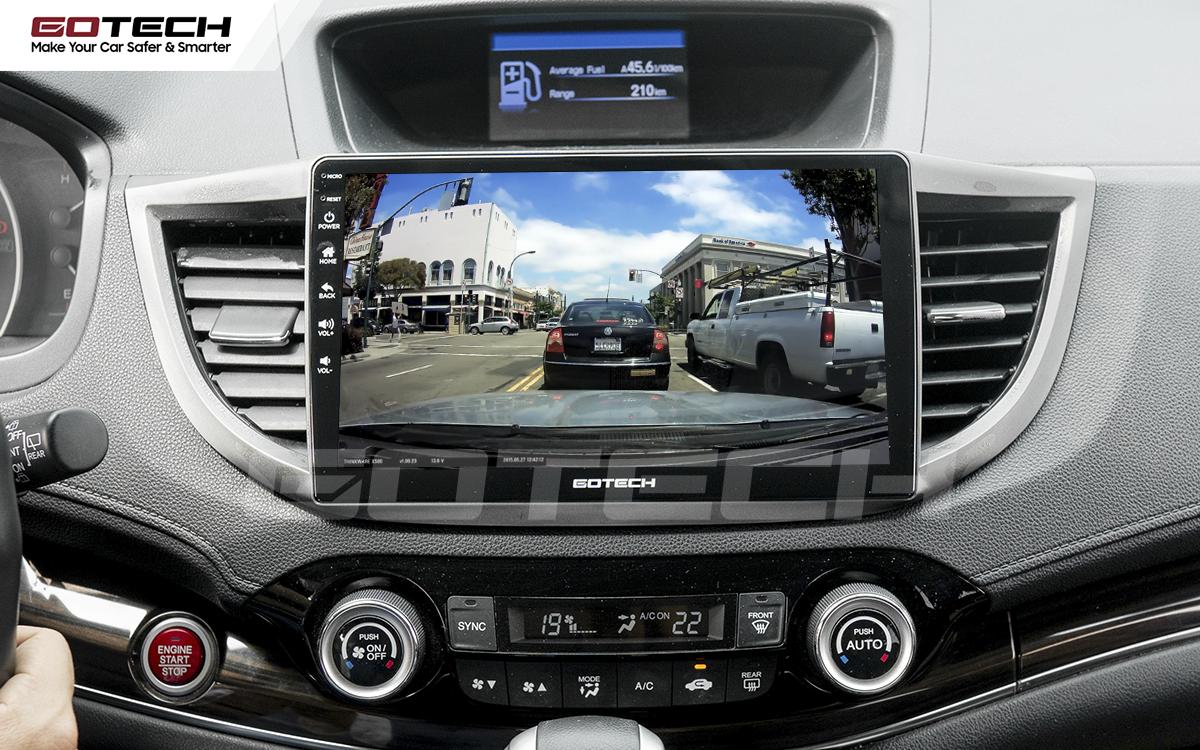 Kết nối các thiết bị camera lên màn hình ô tô thông minh GOTECH