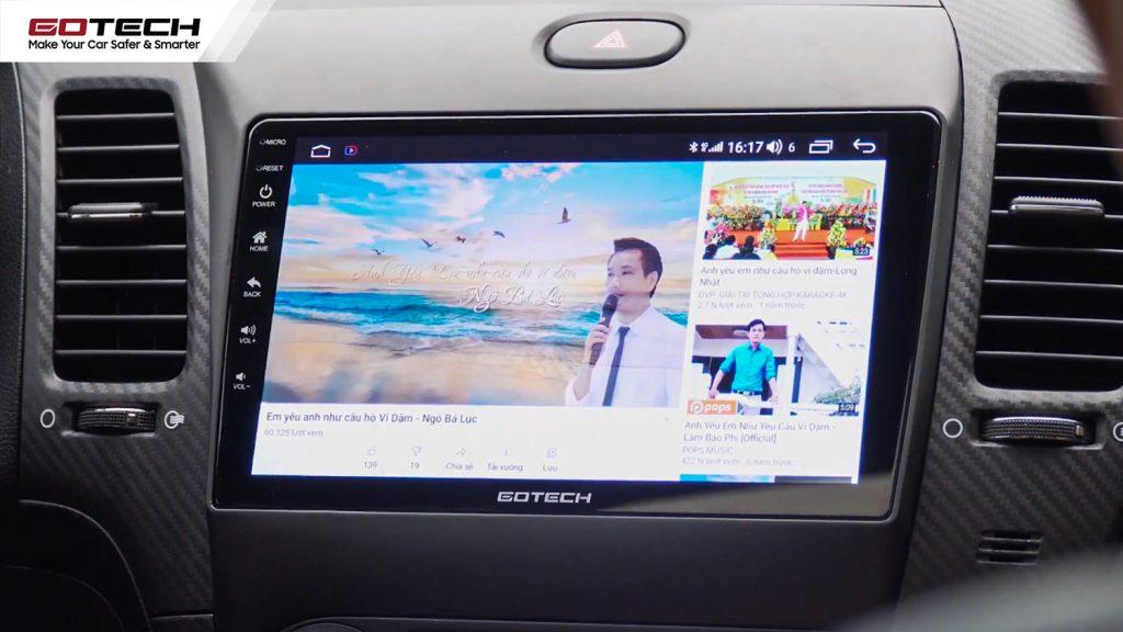 lắp màn hình dvd android