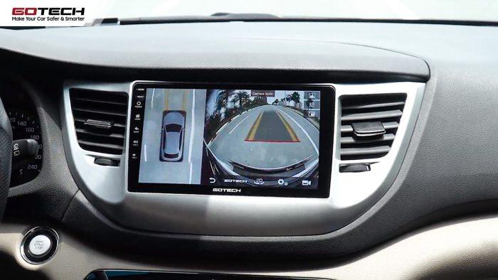 lắp màn hình ô tô tích hợp camera 360 độ