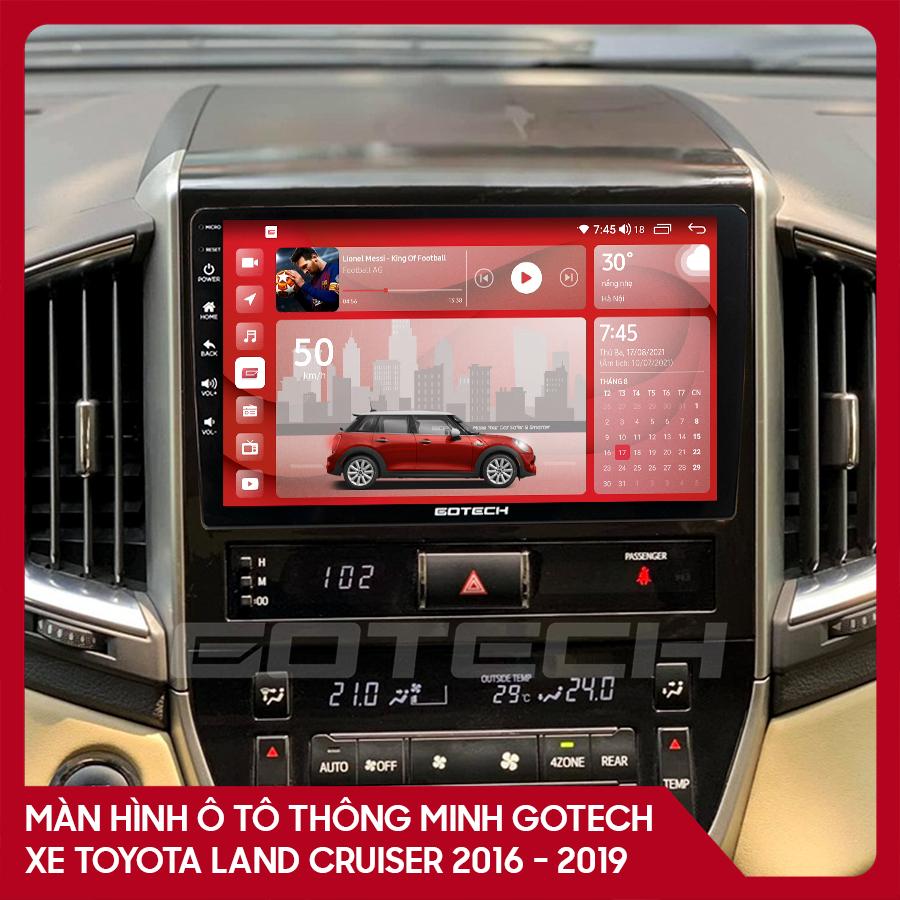 Màn hình ô tô GOTECH cho xe Toyota Land Cruiser 2016-2019