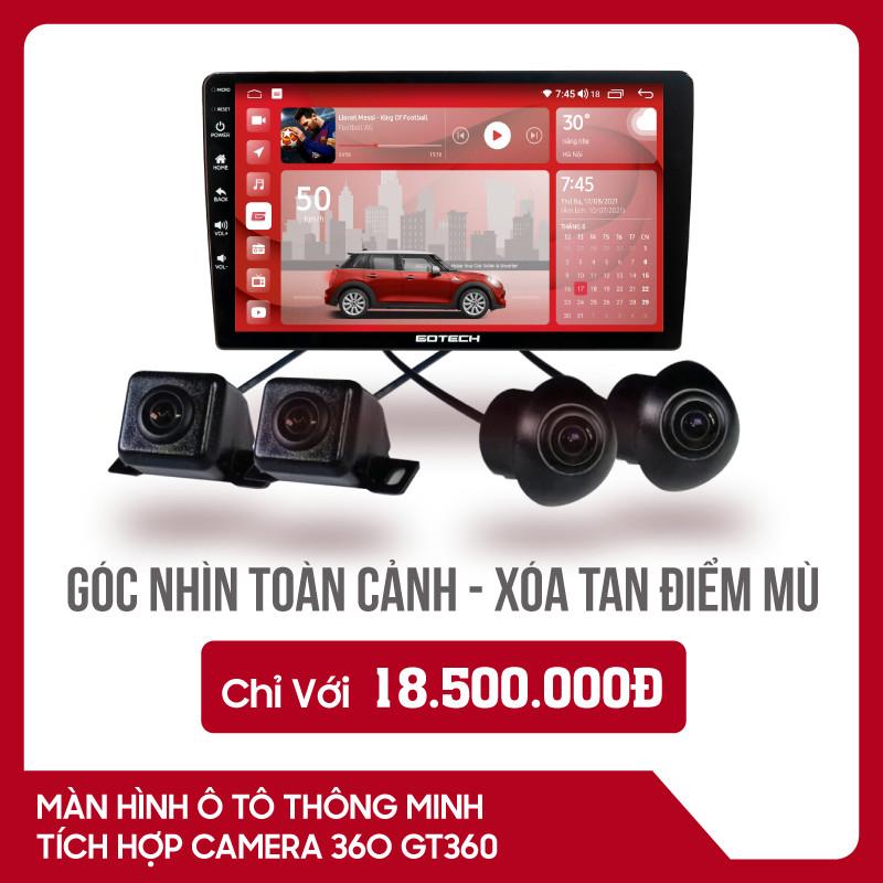 MÀN HÌNH Ô TÔ THÔNG MINH GOTECH GT360