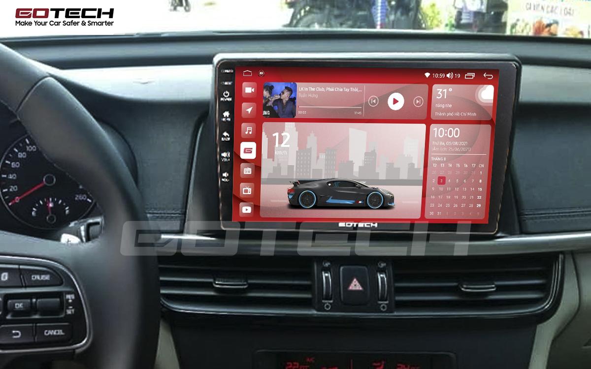 Màn hình rộng 10 inch cho xe Kia K5 Optima 2017-2020