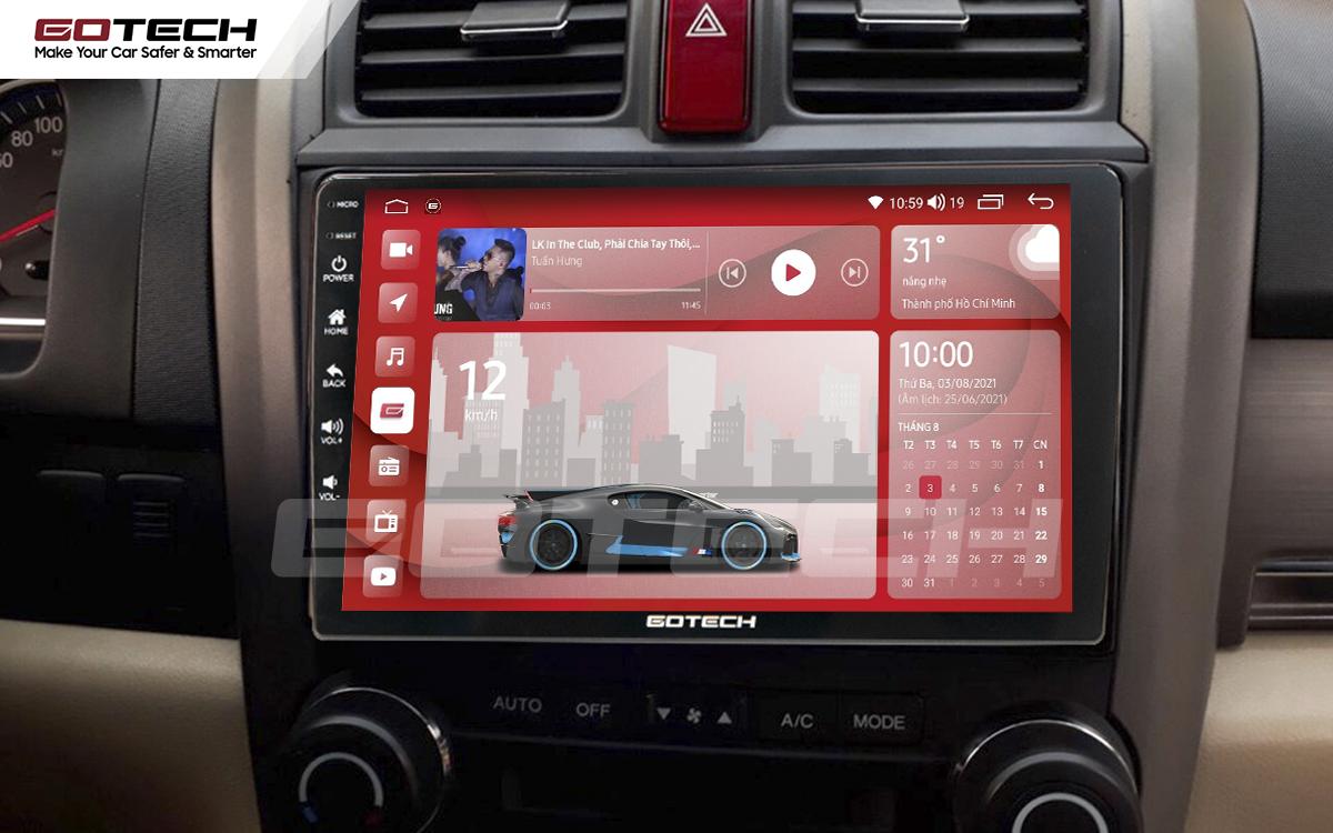 Màn hình rộng 9 inch cho xe Honda Crv 2007-2012