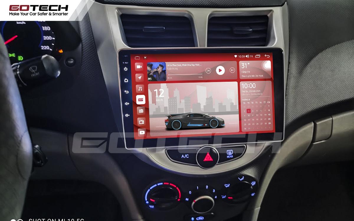 Màn hình rộng 9 inch cho xe Hyundai Accent 2011-2016